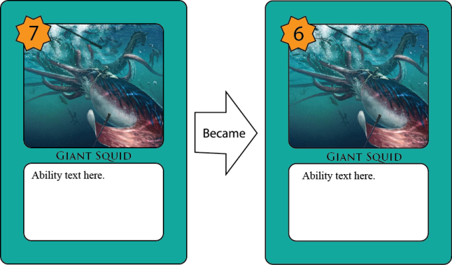 Examples of Modification Set 2 - Giant Squid