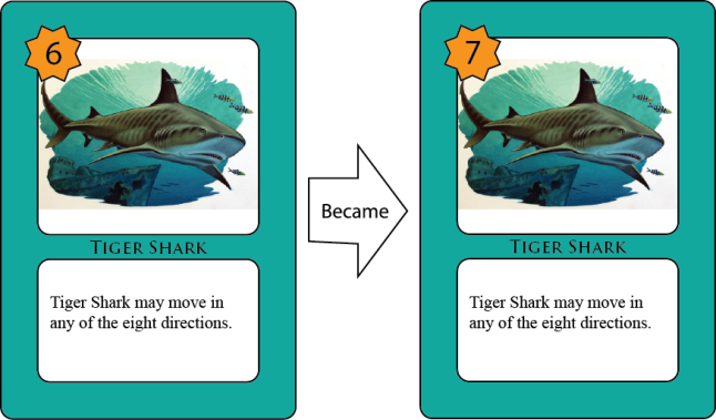 Examples of Modification Set 2 - Tiger Shark