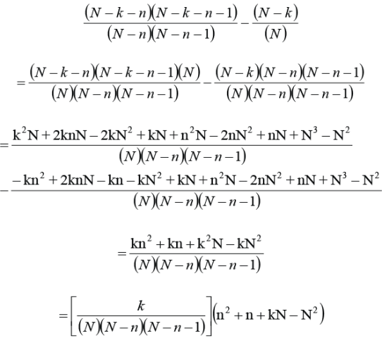 Probability Part 3 Equations 4